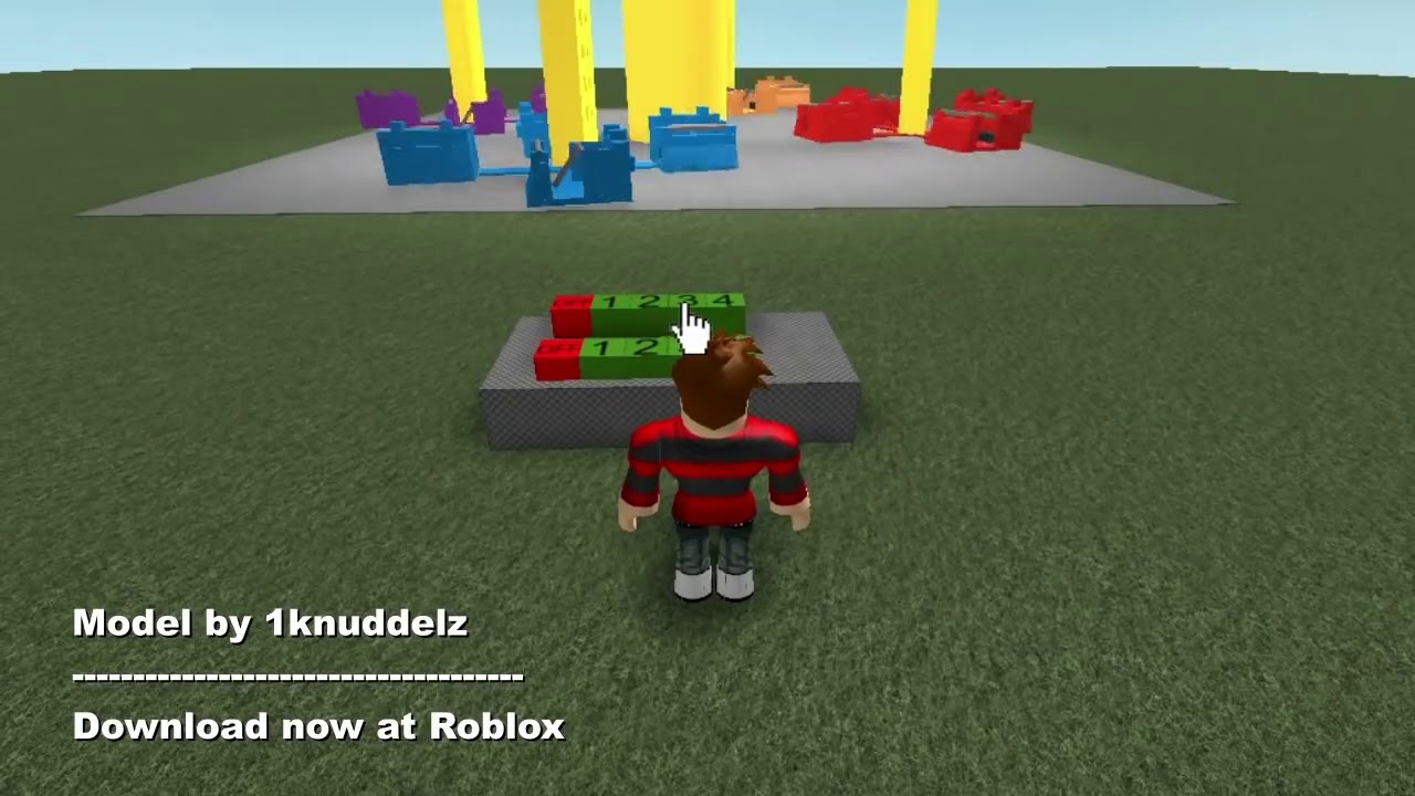 Roblox Free Model Download #2 for Theme Park