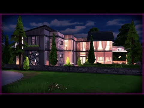 The Sims 4 House Build | Massive Modern House | The Compton's