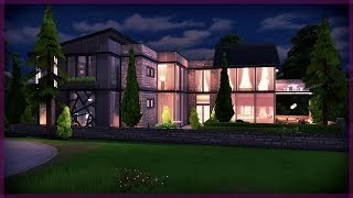 The Sims 4 House Build   Massive Modern House   The Compton
