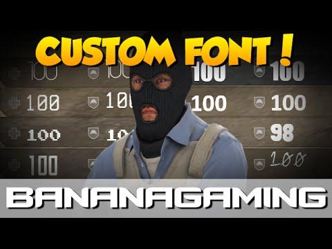CS:GO - Custom Font Tutorial