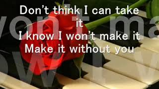 Menudo - If  You're Not Here by My Side - Lyrics