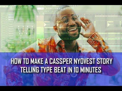 MAKING A Cassper Nyovest TYPE BEAT IN 10 MINUTES FL STUDIO TUT (Pro By Syble Angels )