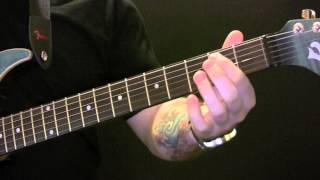 King Of The Rodeo Guitar Tutorial By Kings Of Leon