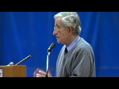 Noam Chomsky comments about National Public Radio