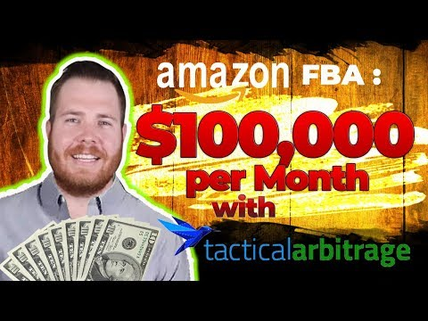How I Make $100,000 per Month on Amazon FBA Selling Other People's Products