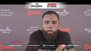Luis Nery Post Fight Media Conference after Alameda win