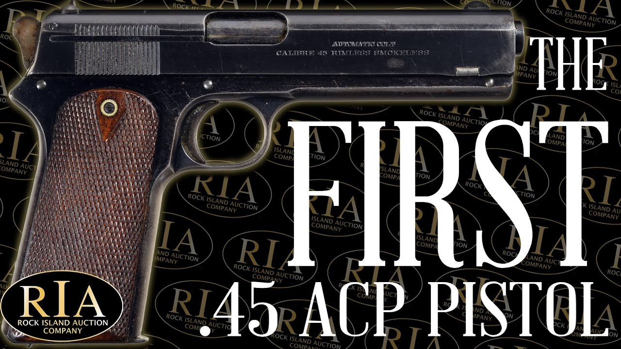 Colt Model 1905: The First .45 ACP Pistol
