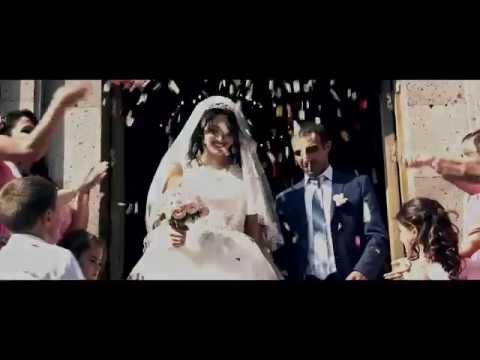 Красивый ролик с  армянской свадьбы Эдгара и Наиры 04 09 2014