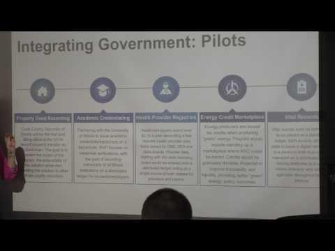 Illinois Blockchain Initiative, Jennifer O'Rourke at Chicago BOB Meetup (2)