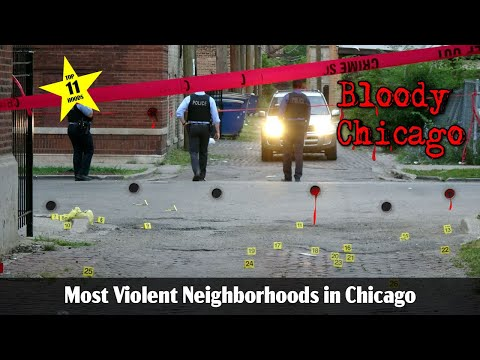 Warning Graphic: Top Ten Most Violent Neighborhoods in Chicago 2# 2017