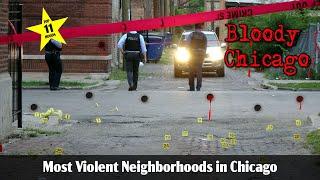 Warning Graphic: Top Ten Most Violent Neighborhoods in Chicago 2# 2017