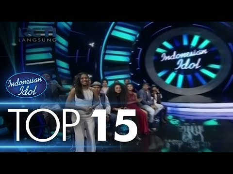 RESULT - TOP 15 - Indonesian Idol 2018