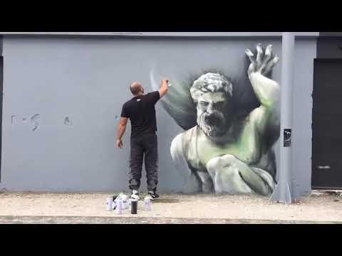 Ancient Greek mythology ..at progress  a new graff production  ...