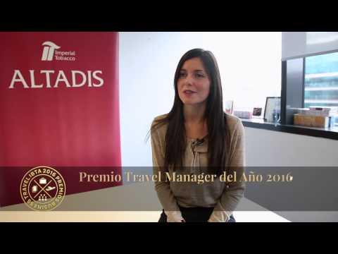PREMIO Travel Manager del Año - Daniela Renzi, ALTADIS Imperial Tobacco Group
