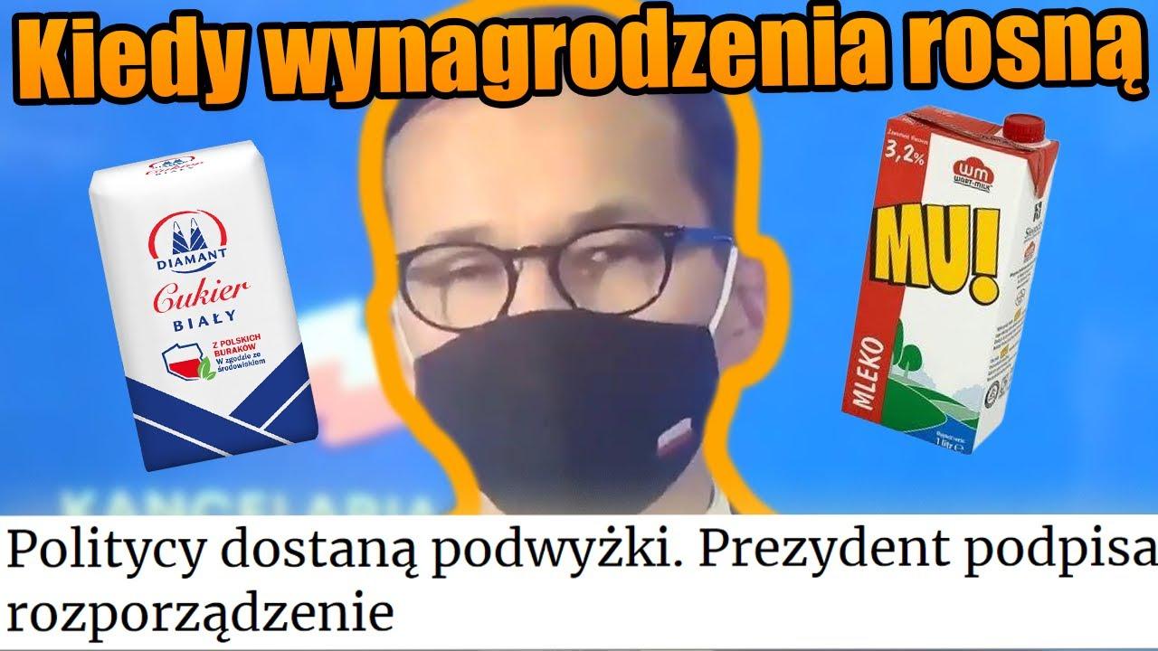 Mateusz Morawiecki aka Pinokio i jego Wynagrodzenia