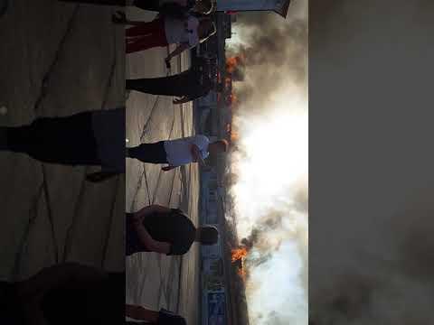 29.06.2019 пожар в городе Заозёрный