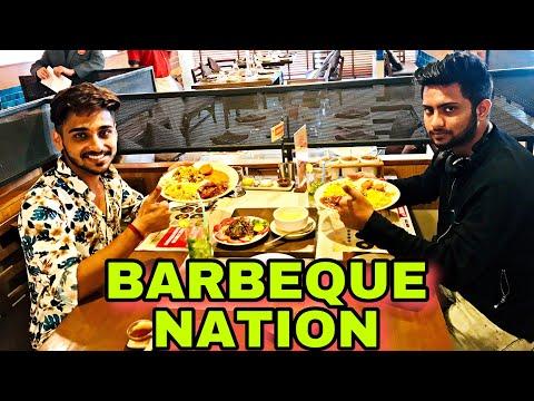 Barbeque Nation Bhubaneshwar Food Vlog | Bhubaneshwar Full Food Review | Shiladitya Chatterjee