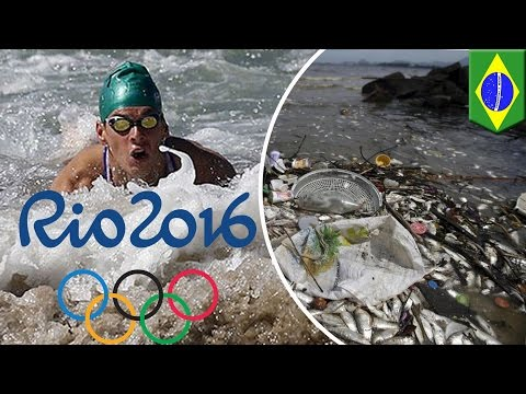 Rio 2016: Olympic athletes advised to keep mouths shut in contaminated waters - TomoNews