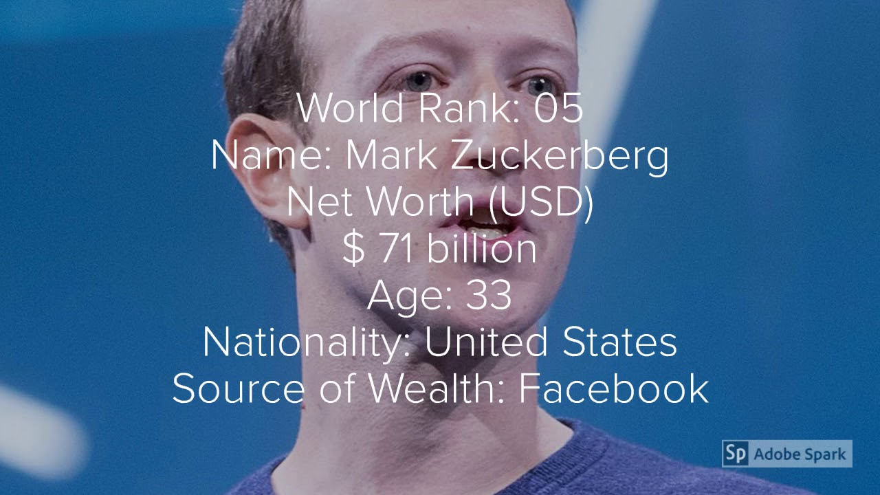 Top 10 Rich Man In The World 2018 2019