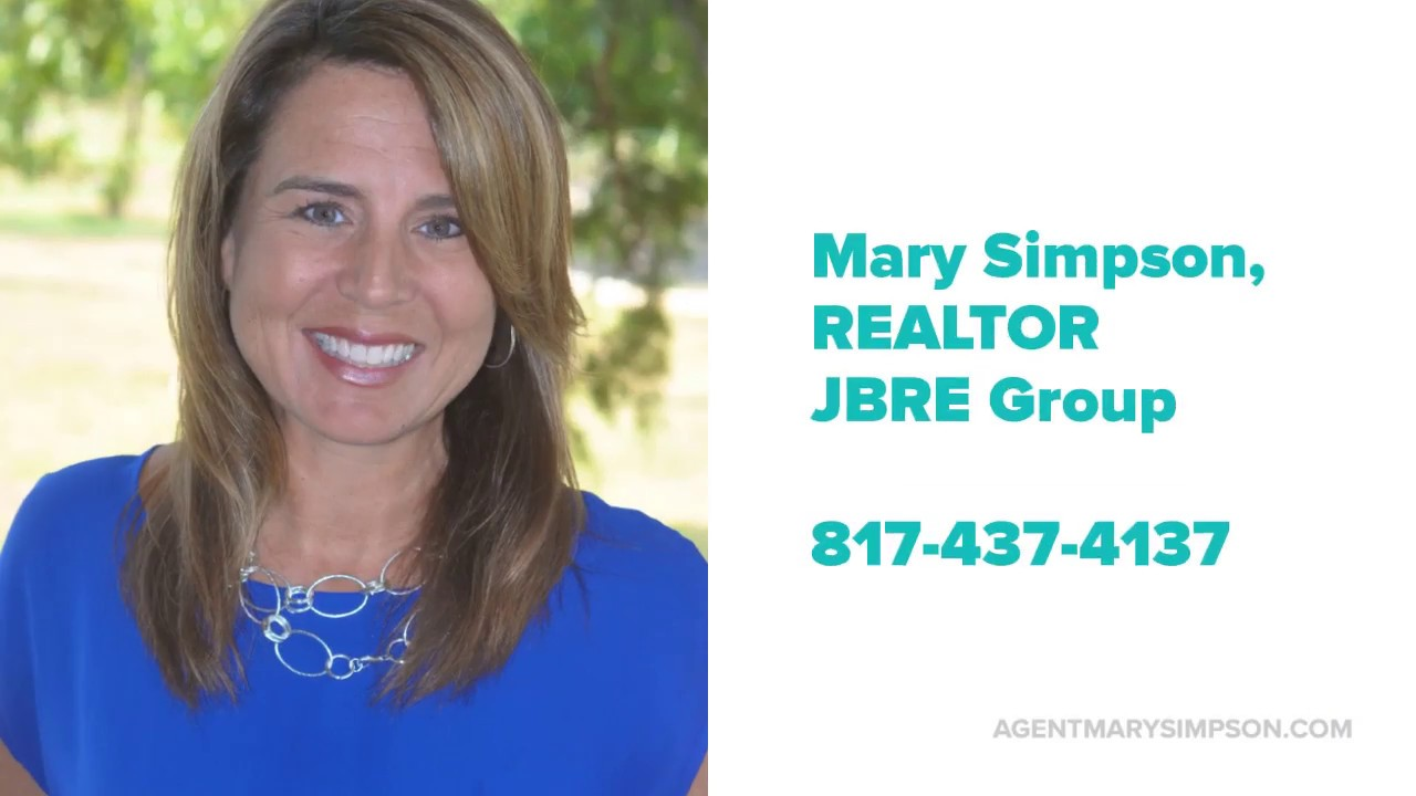 Mary Simpson, REALTOR JBRE Group - Mansfield, Arlington, Dallas, Fort Worth