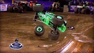 best of monster jam trucks accidents crashes jumps backflips
