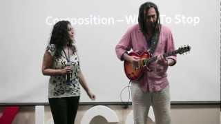 When Life Imitates Art: Ed DeGenaro & Ujjayinee Roy at TEDxKCG