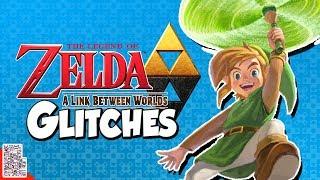 Super Paper Zelda - Glitches in A Link Between Worlds - DPadGamer