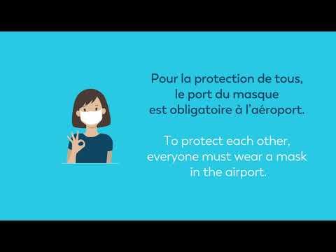 Aéroports de Lyon : Protégeons-nous, très heureux de vous accueillir à nouveau !