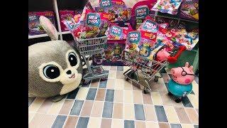 Bajka Świnka Peppa po polsku 2019 Peppa spotyka Słodziaka Zuzię w supermarkecie