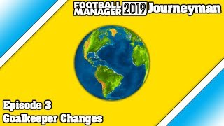 FM19 Journeyman - Episode 3 - Goalkeeper changes