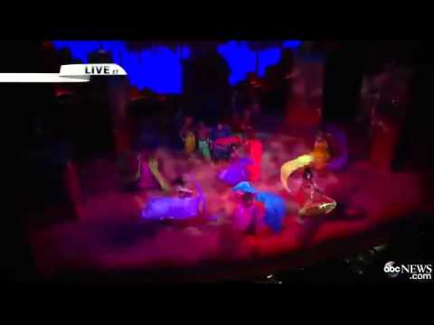The Cast of 'Aladdin' Performs 'Arabian Nights' Live