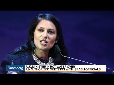 U.K. Minister Finds Herself in Hot Water