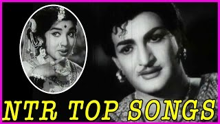 NTR Top Old Hit Songs - Telugu Video Songs Jukebox -RoseTeluguMovies