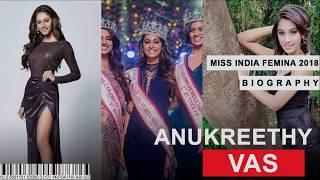 Anukreethy Vas || Miss India 2018 || | Lifestyle | Biography| Personal Life | Hot image