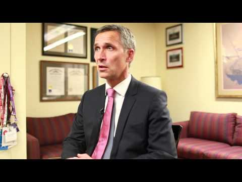 3 with IOP: Prime Minister of the Kingdom of Norway Jens Stoltenberg