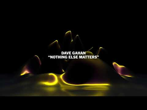 """Dave Gahan - """"Nothing Else Matters"""" from The Metallica Blacklist"""