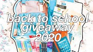 ☆ HUGE BACK TO SCHOOL GIVEAWAY 2020 | 2 WINNERS! ☆