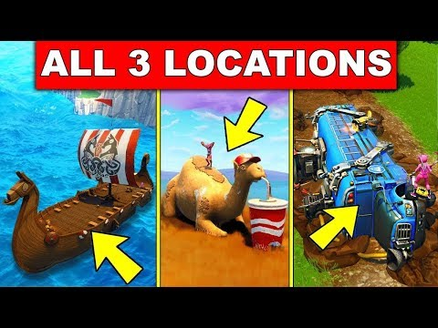 Visit A Viking Ship A Camel And A Crashed Battle Bus All Locations