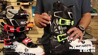 Bentgate First Look - Scarpa Maestrale RS and Gea RS