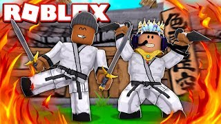 2 PLAYER NINJA TYCOON IN ROBLOX