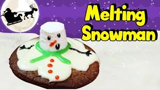How To Make Christmas Melting Snowman Cookies