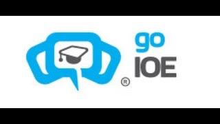 Cách đăng ký tài khoản thi IOE