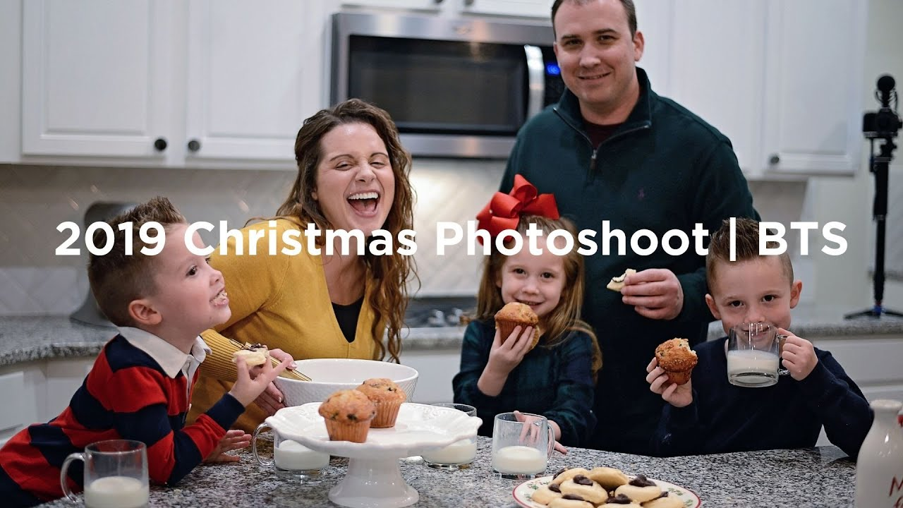 2019 Christmas Photoshoot Bts Youtube