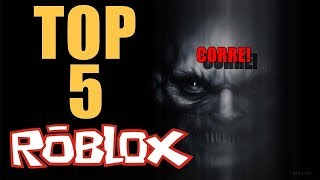 TOP 5 THE BEST FEAR GAMES IN ROBLOX