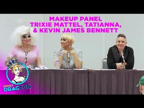 Trixie Mattel & Tatianna w/ Kevin James Bennett: Makeup Panel at RuPaul's DragCon 2015