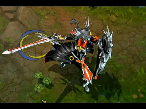 Hd League Of Legends Custom Skin Preview Eclipse Leona Youtube