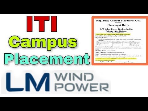 ITI, Campus, LM Wind Power Pvt Ltd, Gujarat || FAMOUS GYAN