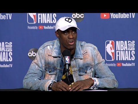pascal-siakam-postgame-interview---game-1-|-warriors-vs-raptors-|-2019-nba-playoffs