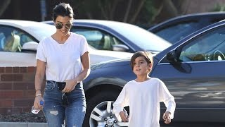 Mason Disick Tells Paparazzi 'You're Weird!'