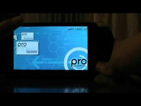 КАК ПРОШИТЬ PSP НА ПРОШИВКУ 660 PRO B10 YouTube
